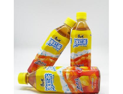 Ice Red Tea Bottle Lable